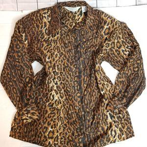 VINTAGE! Compagnie Internationale 100% silk blouse